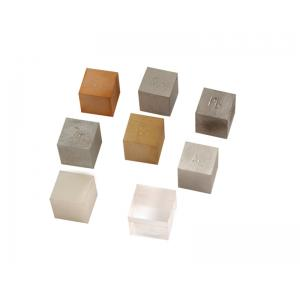 Arco Cubes Metal/Non Metal, Plastic(Clear Acrylic)