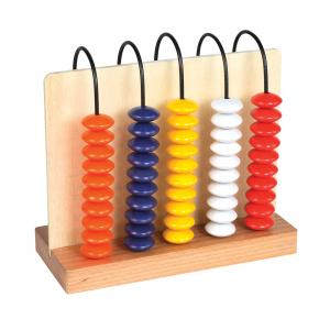 Arco Abacus-5 Rows, 10 Beads In Each Row