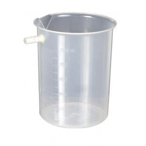 Arco Displacement Vessel(Overflow Can), Plastic 1000ml