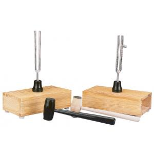 Arco Pair of Tuning Forks on Resonance Box