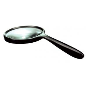 Arco Hand Held Magnifier,Superior Plastic Frame-75mm