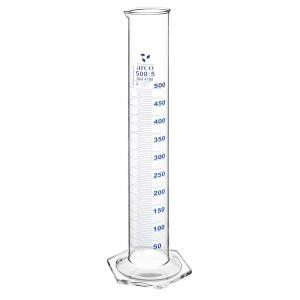Arco Measuring Cylinder, Class A, Hex. Base, Borosilicate 3.3, Capacity - 25ml