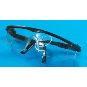 Arco Safety Goggles, Clear Plastic, L Shape